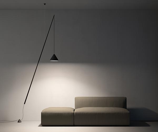 North Floor Lamp Vibia Lighting Eikelenboom Vloerlampen
